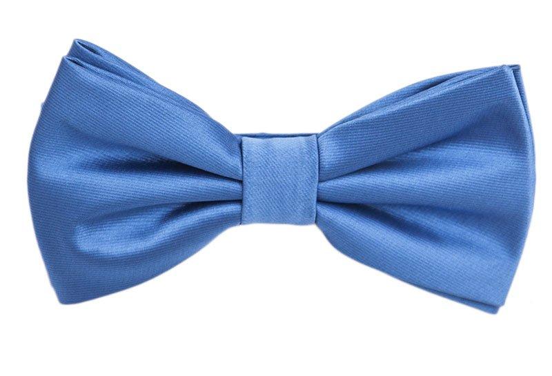 Papion de ceremonie albastru uni marca Grazie Filipeti