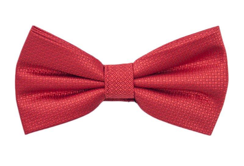 Papion de ceremonie rosu cu model deosebit marca Grazie Filipeti