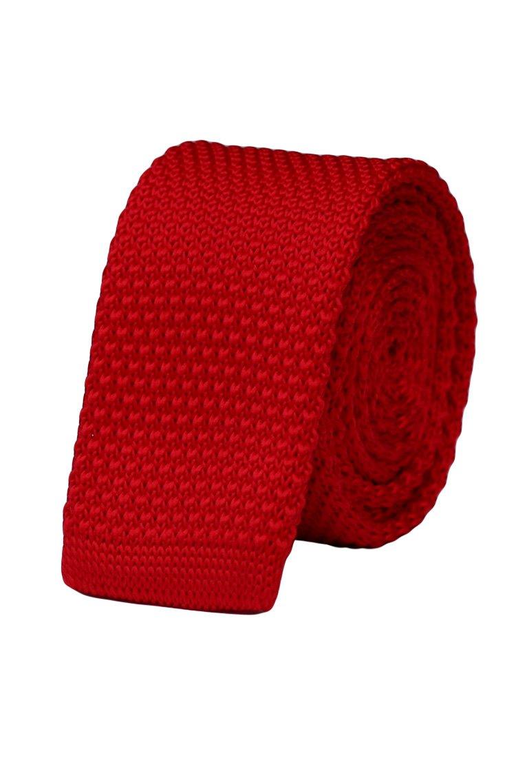 Cravata crosetata rosie marca Grazie Filipeti
