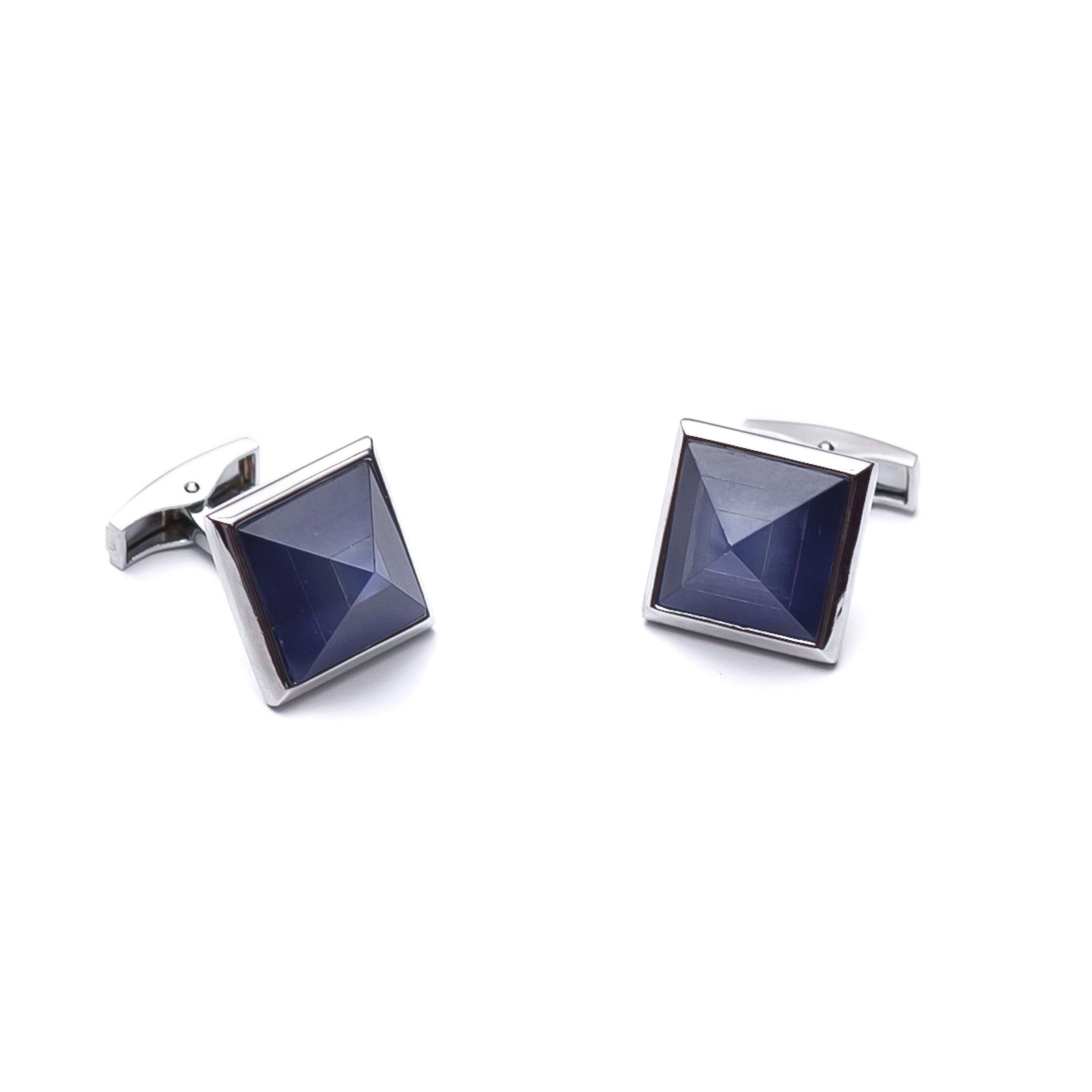 Butoni camasa - Blue Pyramid