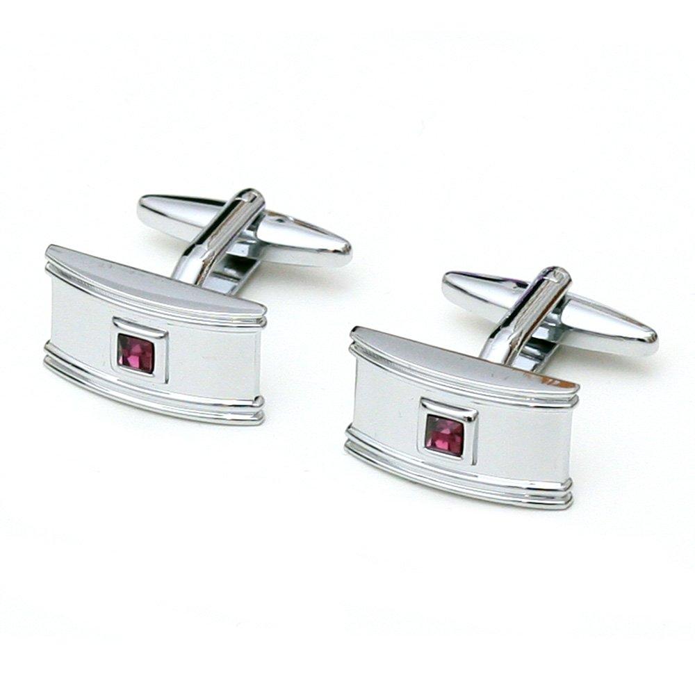 Butoni eleganti cu cristale violet