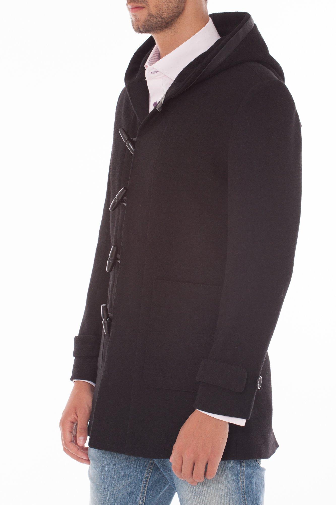 Jacheta neagra barbati cu gluga marca Grazie Filipeti