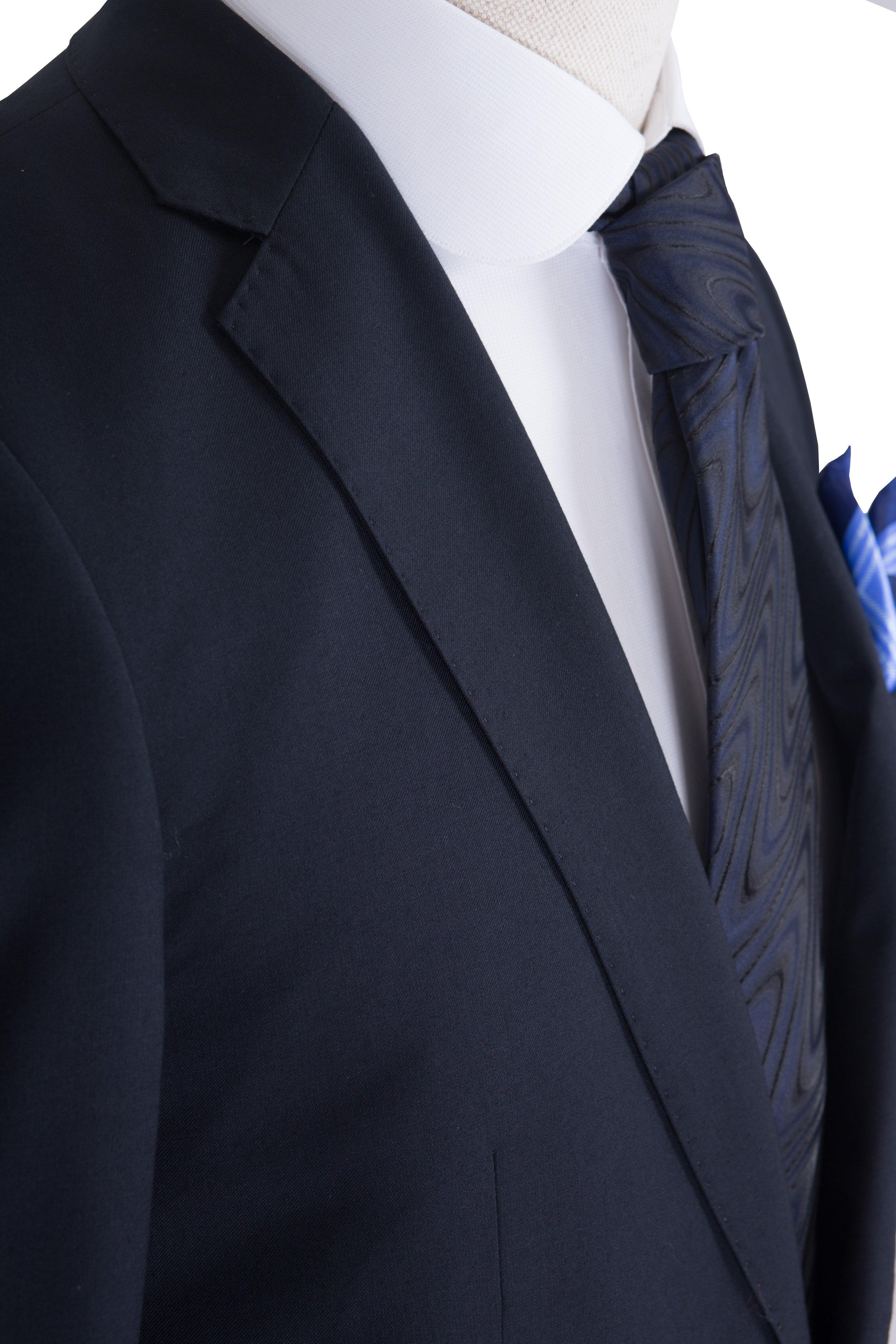 Costum barbati bleumarin uni Grazie Filipeti