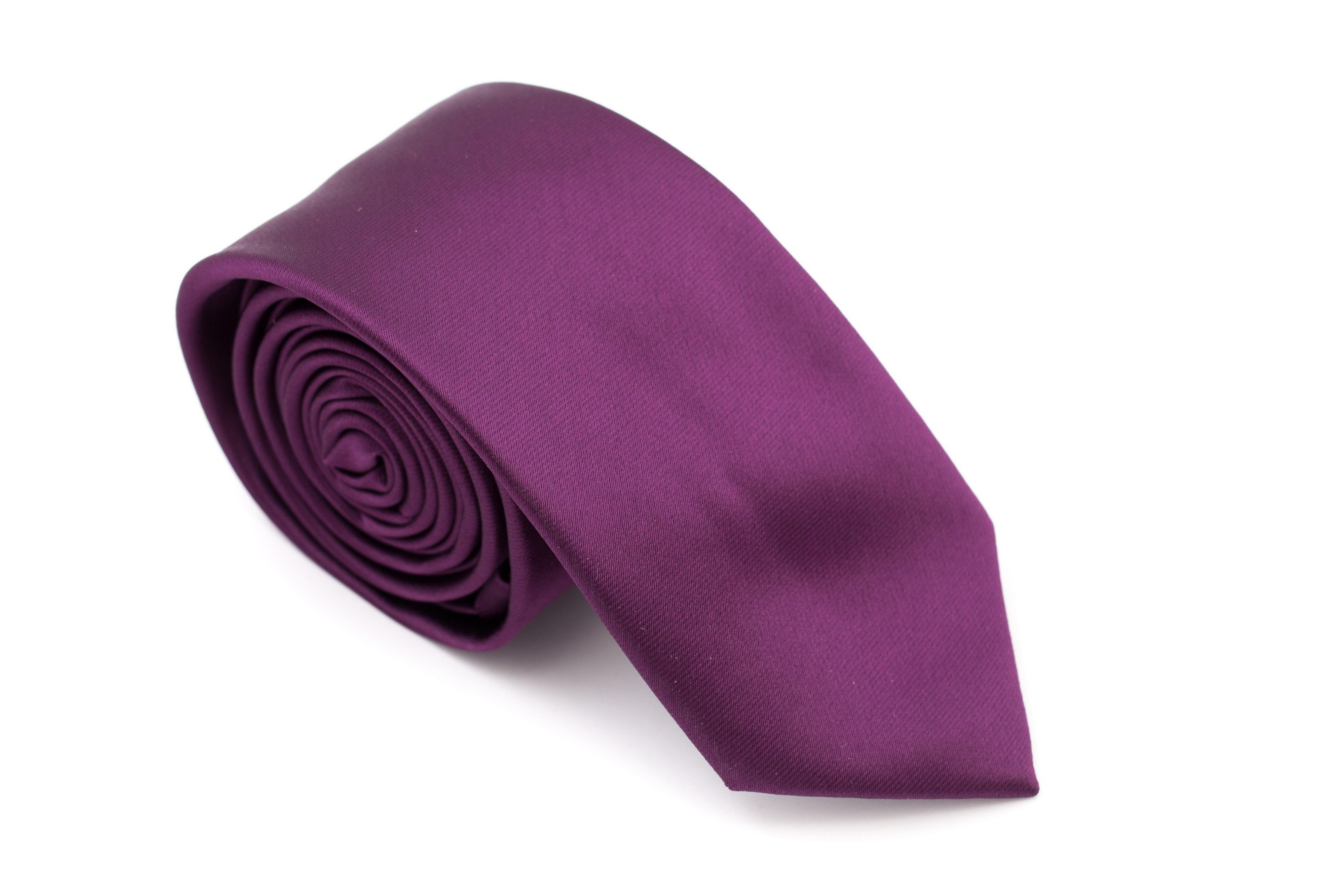 Cravata slim mov uni Grazie Filipeti