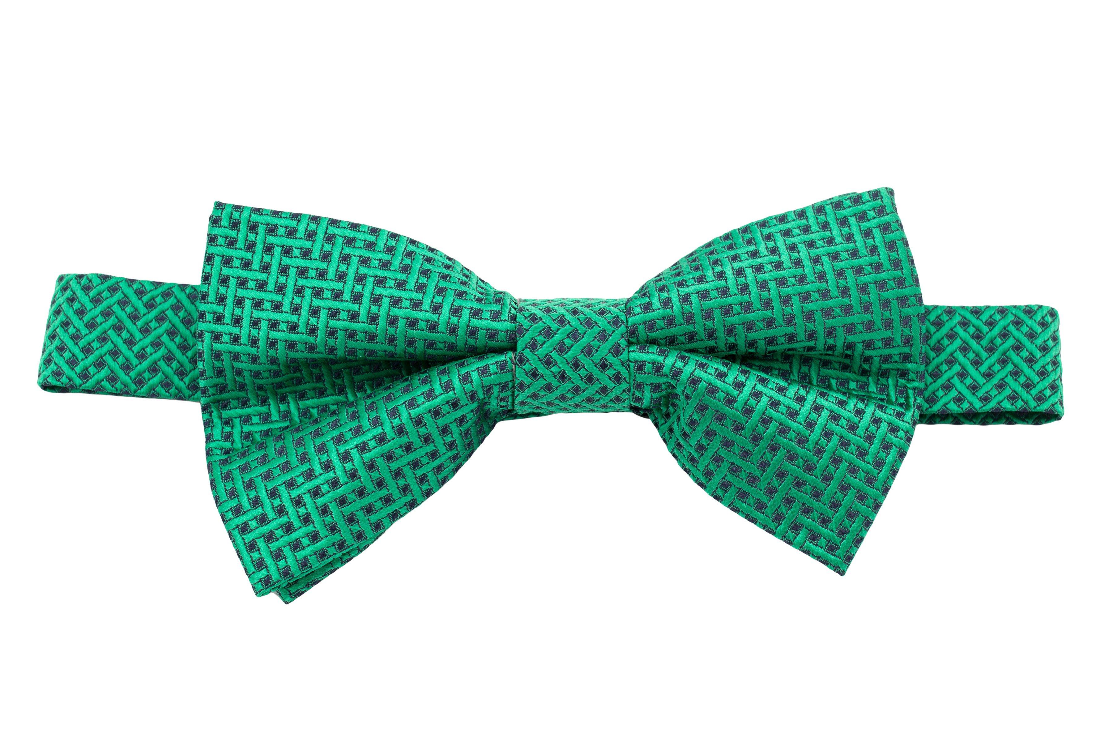 Papion verde smarald cu model Grazie Filipeti