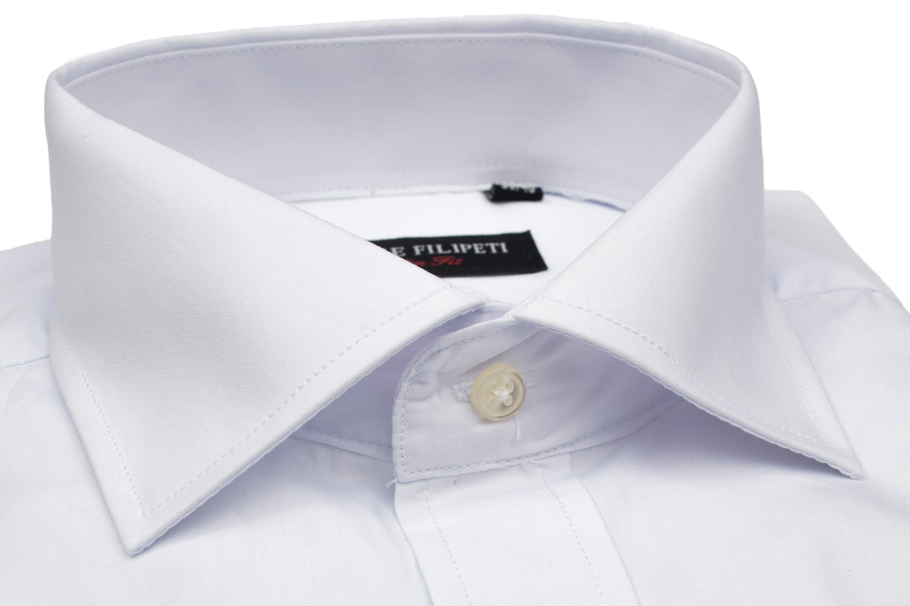 Camasa alba Slim Fit pentru butoni Grazie Filipeti