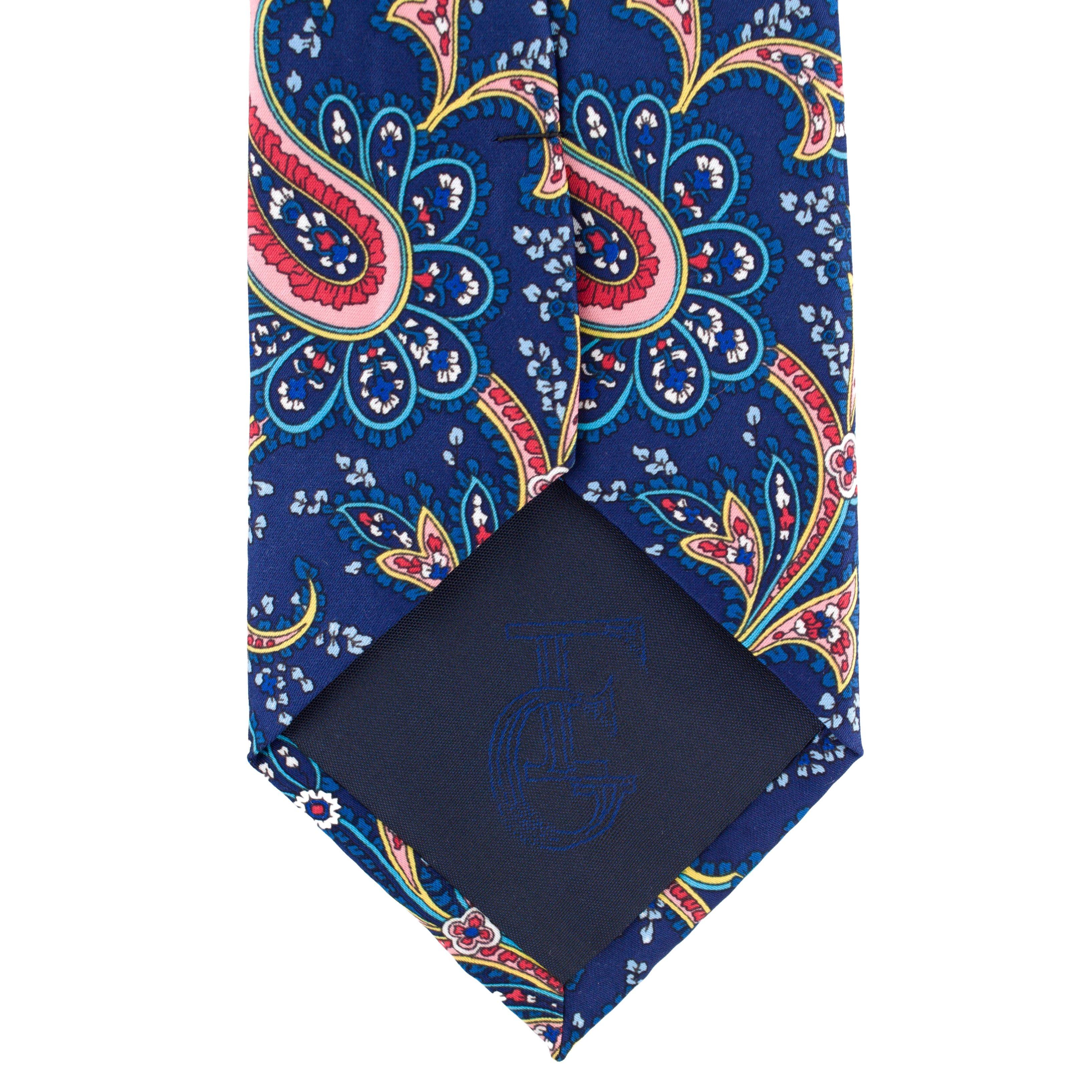 Cravata Blue Paisley