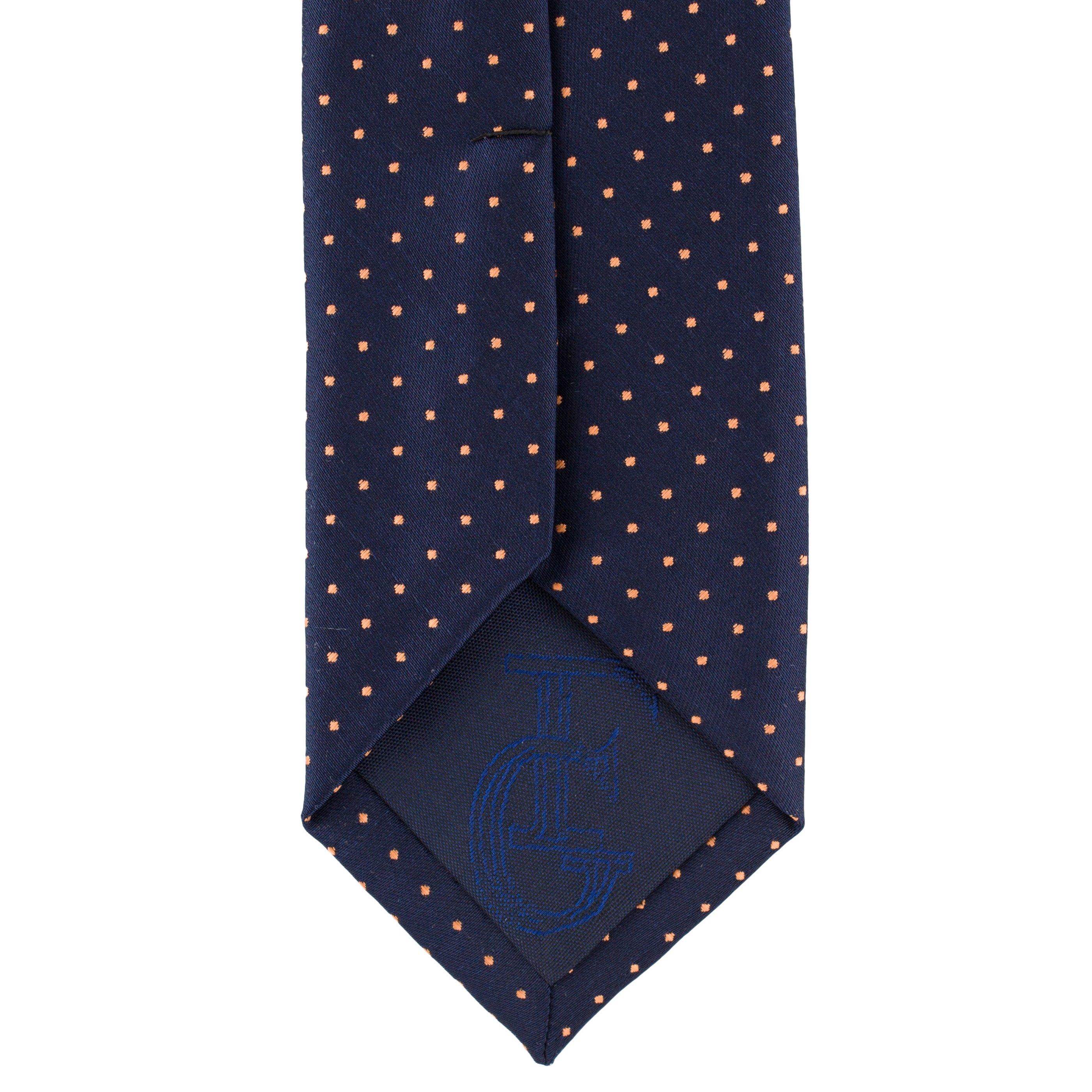Cravata Slim bleumarin