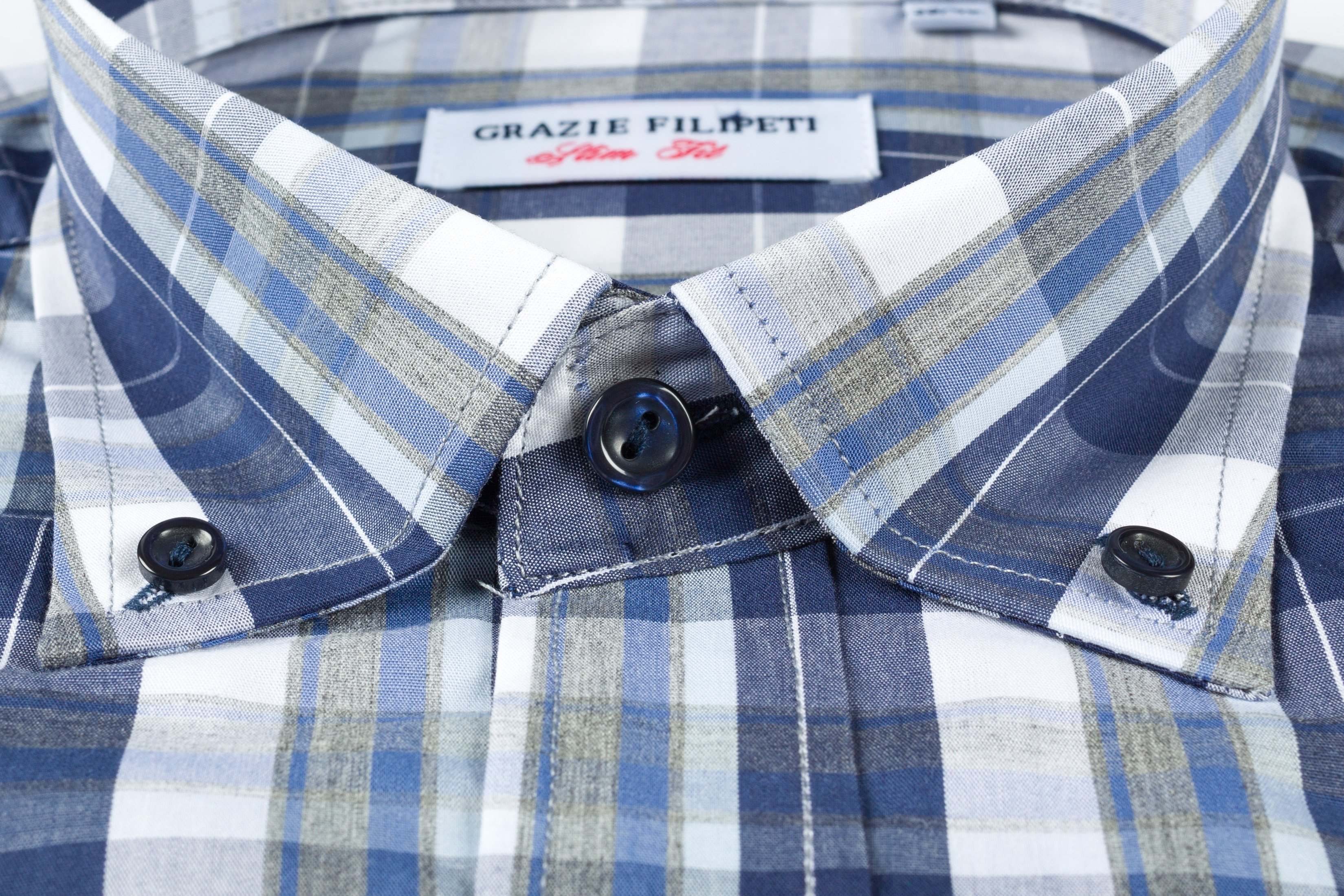Camasa Slim Fit Navy Blue