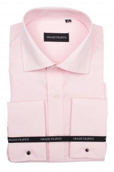 Imagine indisponibila pentru Camasa barbati Clasica roz pentru butoni Grazie Filipeti