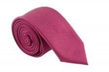 Cravata Slim grena cu striatii