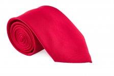 Cravata rosie cu striatii