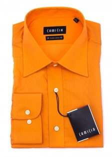 Camasa Camicia Regular Fit - orange