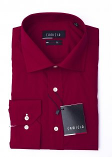 Camasa Camicia Regular Fit - bordeaux